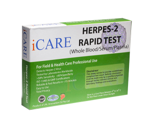 at home herpes test kit